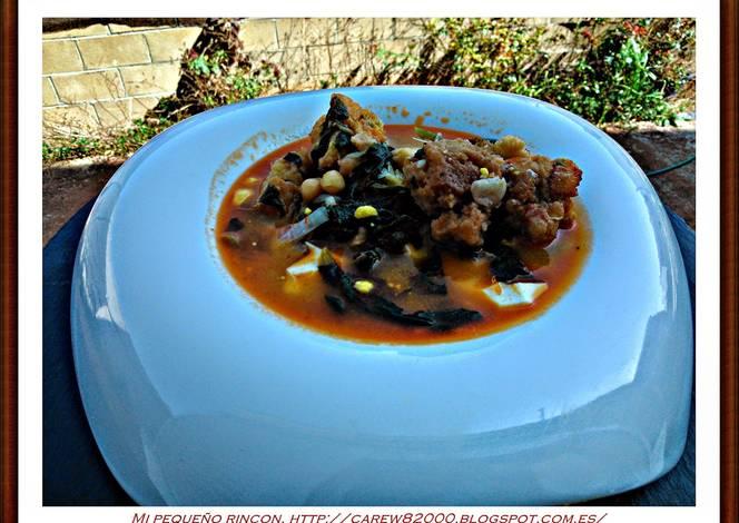 Potaje de garbanzos y jud as receta de carew82000 cookpad - Potaje de garbanzos y judias ...