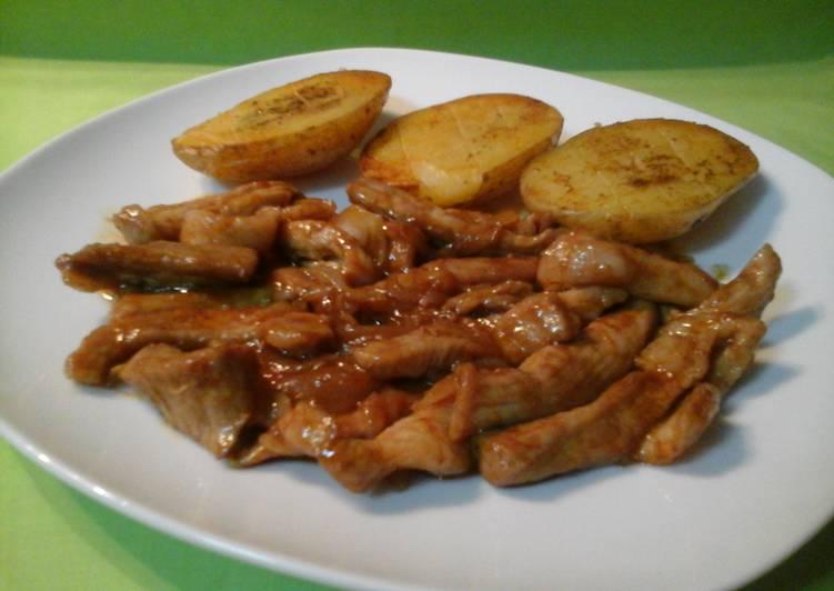 Cocinar Secreto Iberico | Secreto Iberico Con Salsa Bbq Receta De Disfruta Cocinando Con