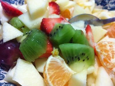 Macedonia o ensalada de frutas