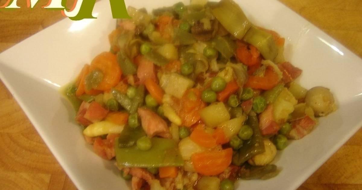 Menestra de verduras - 46 recetas caseras - Cookpad