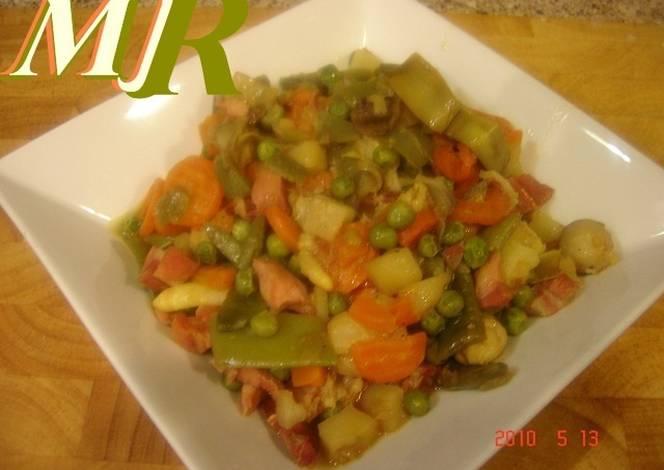 Menestra de verduras a la cerveza receta de montse 2009 - Como preparar menestra de verduras ...