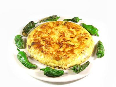 """Tortilla Española con """"chips"""""""