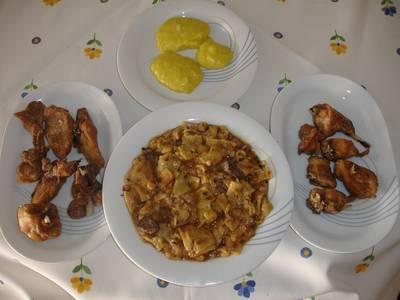 Gazpacho manchego de la montaña de Alicante