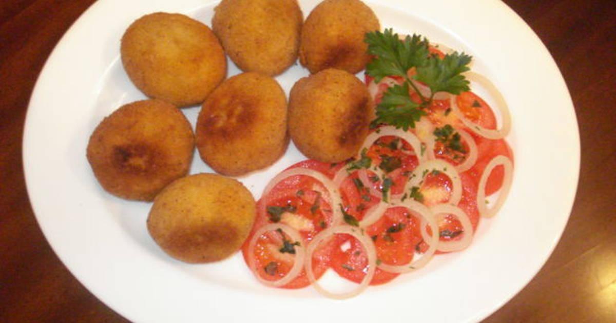 Bombas de papas gabriela receta de gabriela diez cookpad for Cocina facil y rapido de preparar