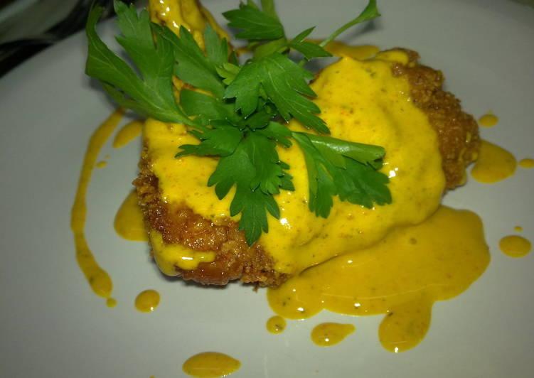 Alitas de pollo rebozadas al lim n con salsa piamonteza receta de pablo david cookpad - Salsa de pollo al limon ...