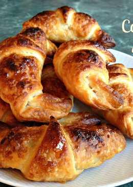 Croissant rellenos de nutella