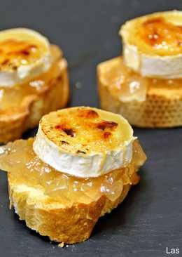tapas de queso de rulo
