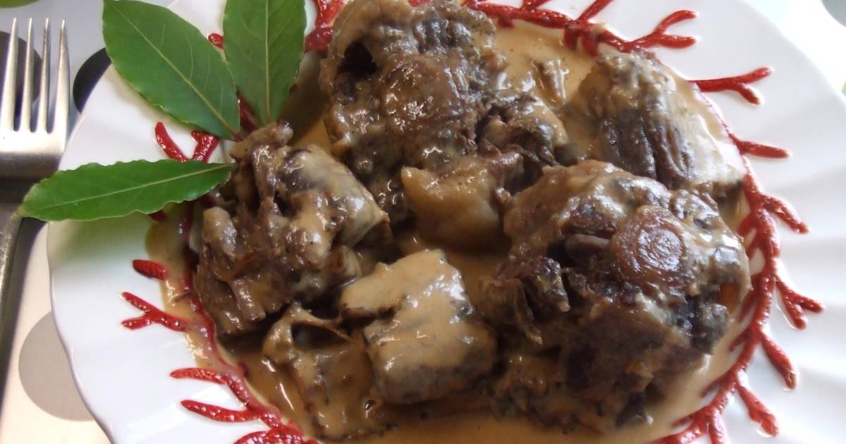 Rabo de ternera guisado al estilo tradicional receta de - Cocinar rabo de ternera ...