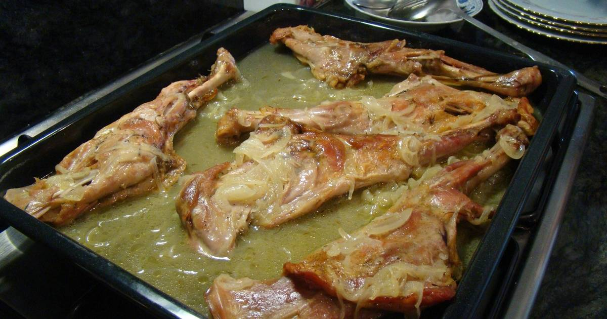 Espaldas de cabrito al horno Receta de Marisa Marcos Ortega - Cookpad