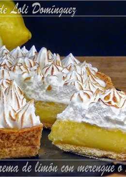 Tarta de crema de limón con merengue o Lemon Pie