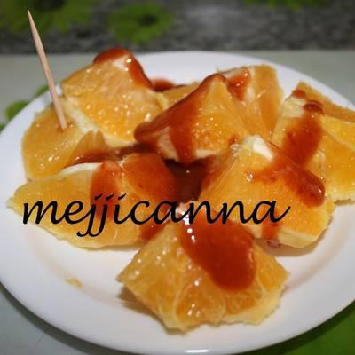 Fruta Con Chamoy