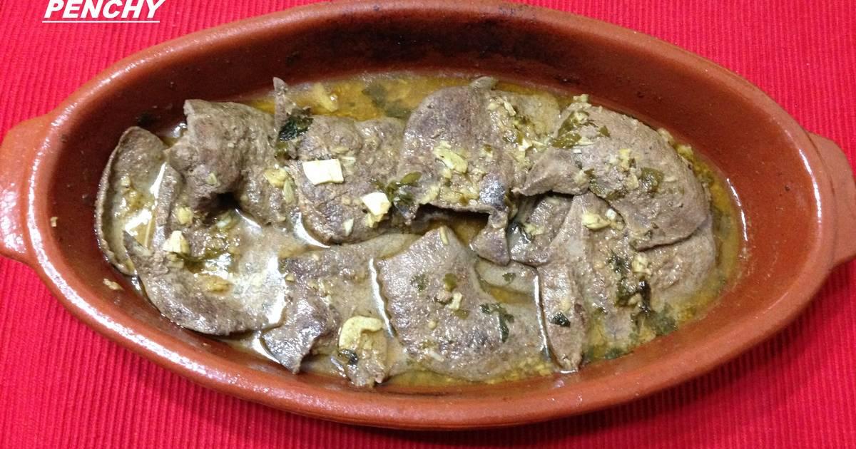 recetas higado de cerdo