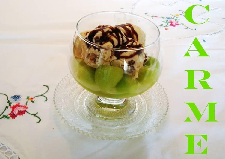 Copa de helado y mel n al cava receta de carme castillo for Copa de cava