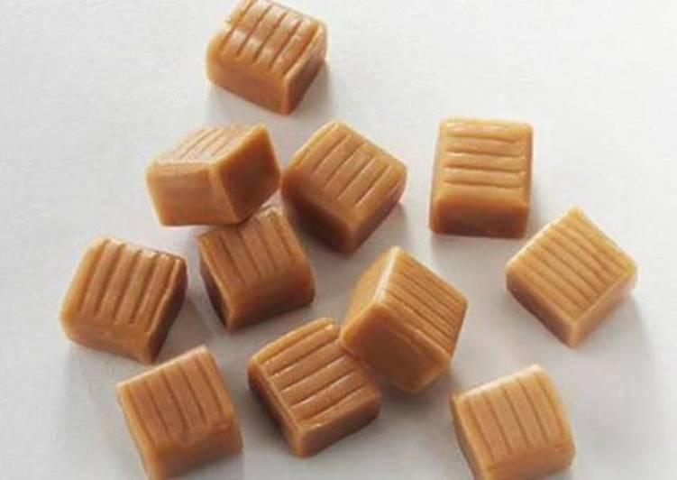 Caramelos de leche fciles Receta de graciela martinez Cookpad