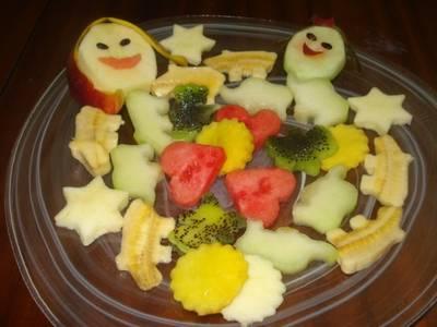 Ensalada de frutas para niños
