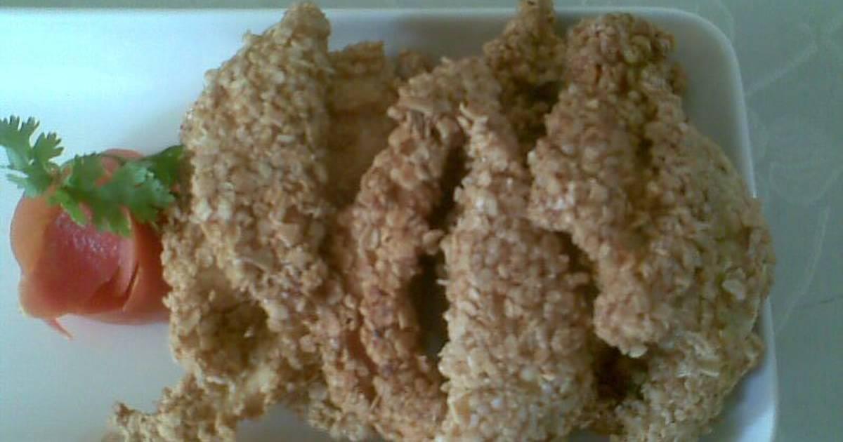 Receta de masa para tiras de pollo