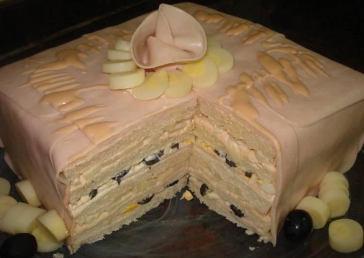 Tarta delicia de pavo