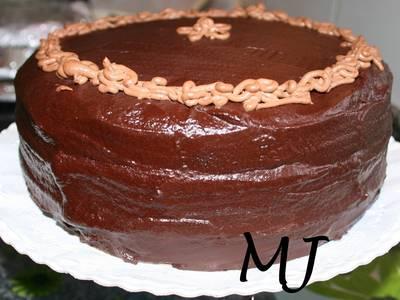 Pastel de chocolate (My devils food cake)