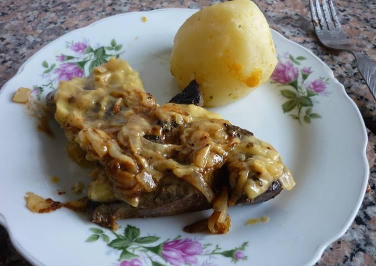 H gado de ternera con salsa bearnesa receta de gringa for Cocinar higado de ternera