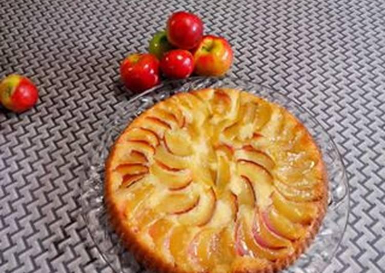 Tarta invertida de manzanas Receta de AndreaLec - Cookpad
