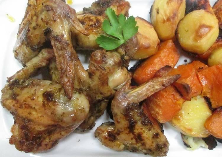 receta alitas adobadas al horno