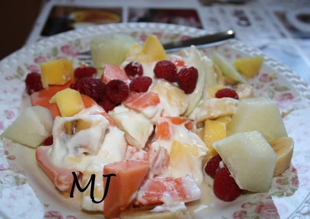 Ensalada de frutas biónicas