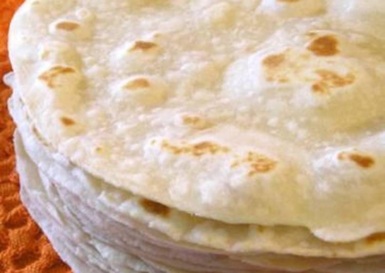 receta de tortitas de harina