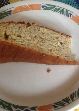 Torta de cambur (banana, plátano)