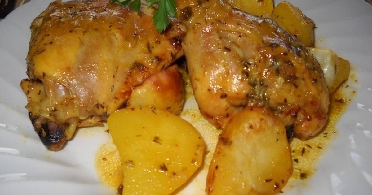 Cuartos de pollo al horno - 34 recetas caseras - Cookpad
