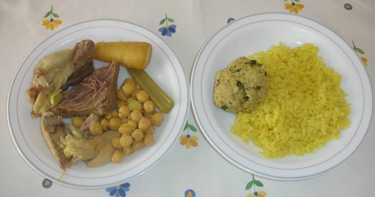 Cocido con pelotas y arroz receta de kiko cookpad - Salsa para bogavante cocido ...
