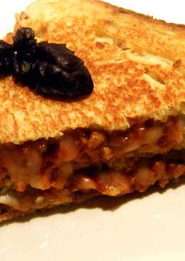 Sandwich de boloñesa primavera