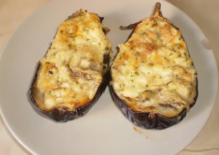 Berenjenas rellenas al horno receta de olalla cookpad - Berenjenas rellenas al horno ...