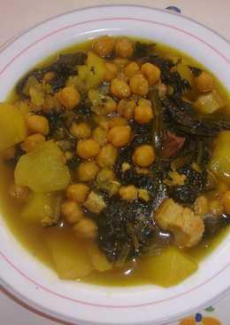 Garbanzos con costilla de cerdo 102 recetas caseras - Garbanzos con costillas ...