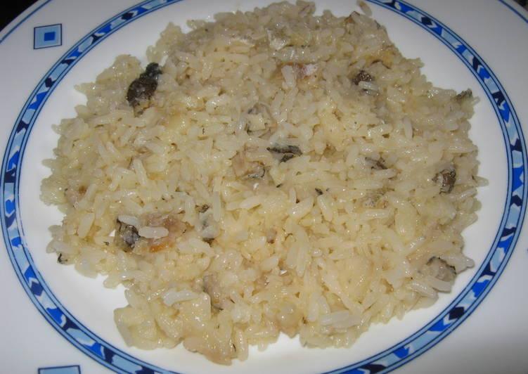 Arroz blanco con bacalao receta de carmem cookpad - Arroz blanco con bacalao ...