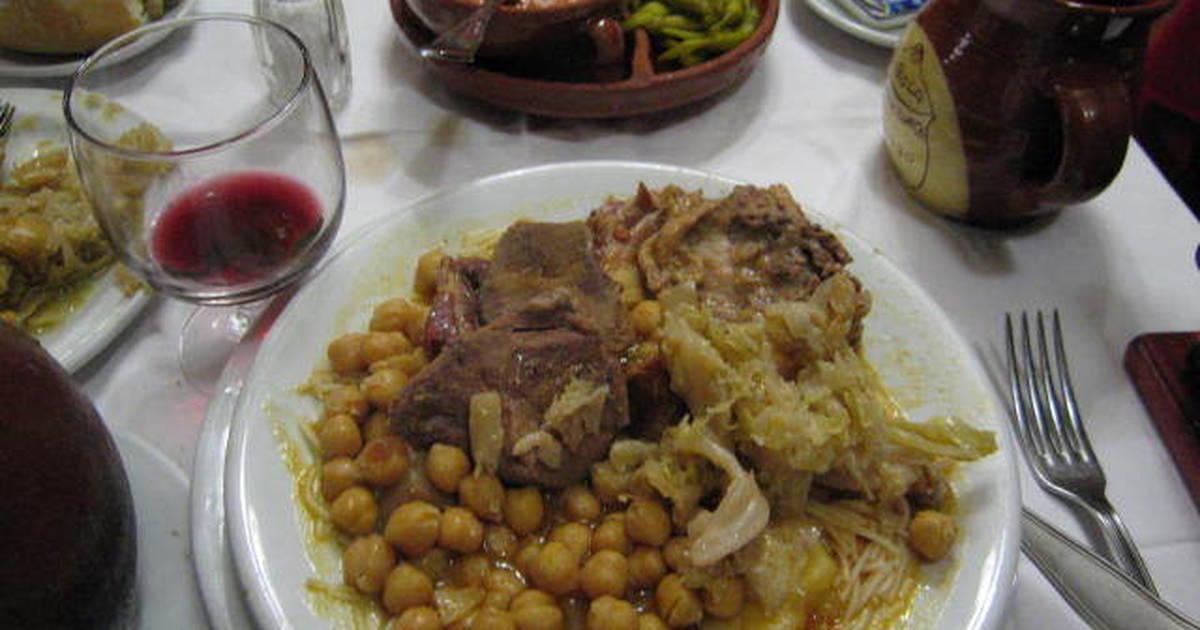Cocido madrile o express receta de macarenadealba cookpad - Cocido en olla express ...
