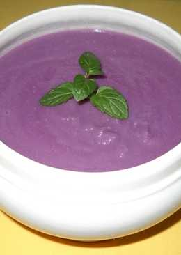 Sopa crema de Lombarda