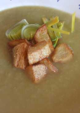 Sopa crema de bacalao y patatas
