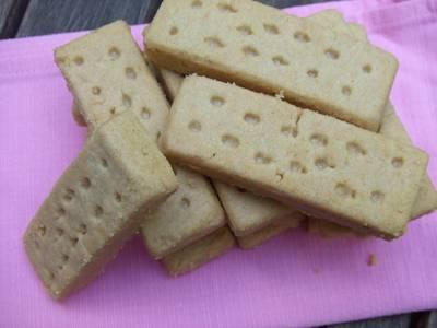 Galletas escocesas de mantequilla