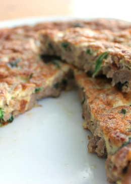 Frittata italiana de carne y/o verduras