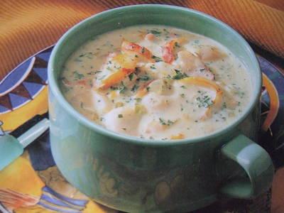 Sopa irlandesa de patata y puerro