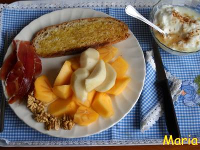 Desayuno saludable para cada mañana
