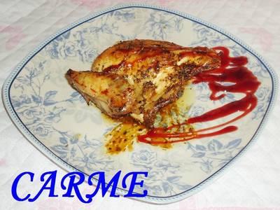 Pechugas de pollo al horno con hierbas aromáticas