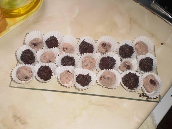 Trufas de chocolate caseras fáciles