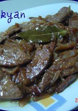 H gado con cebolla 330 recetas caseras cookpad for Cocinar higado de ternera