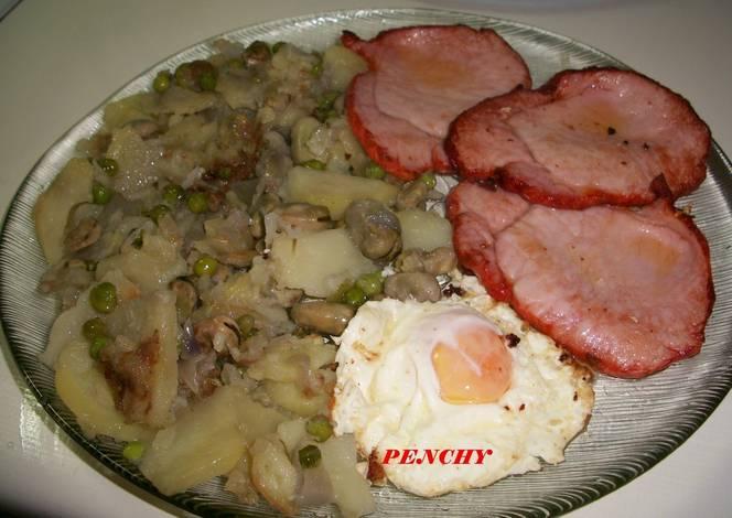 Patatas a lo pobre con habas y guisantes en compa ia for Siembra de habas y guisantes