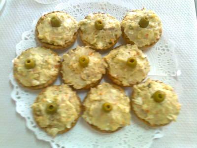 Tartaletas de ensaladilla Murciana