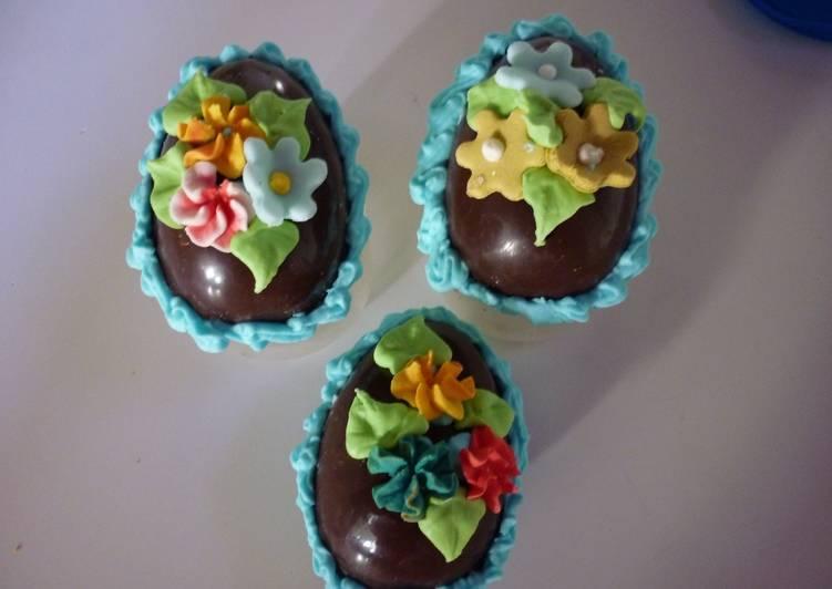 Huevos de pascua caseros receta de gringa cookpad - Huevos decorados de pascua ...