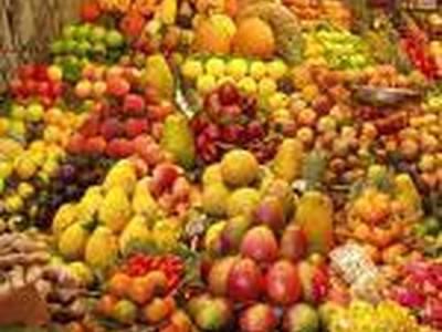 Ensalada loca de fruta variada