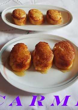 Torrijas al horno con miel