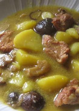Patatas Guisadas Con Setas 9 Recetas Caseras Cookpad